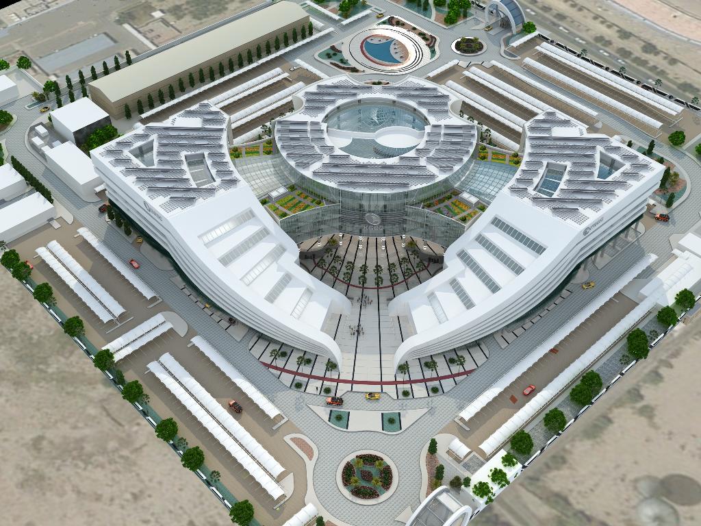 New Main Headquarter for Kuwait Gulf Oil Company at Ahmadi